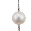 Pendant pearl earrings