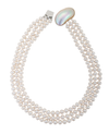Mother of pearl clasp necklace
