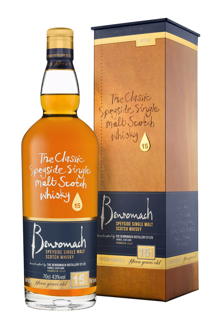 Benromach 15 Year Old | 43% 700ml  Whisky