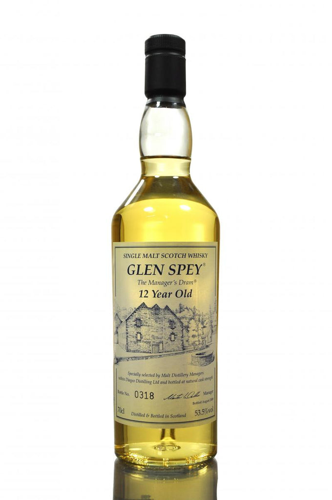 Glen Spey 12 Year Old Manager's Dram | 53.5% 700ml  Whisky