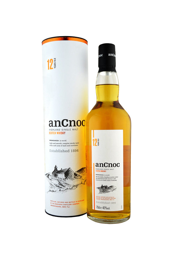 anCnoc 12 Year Old | 40% 700ml