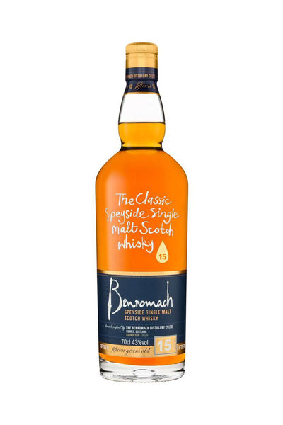 Benromach 15 Year Old | 43% 700ml