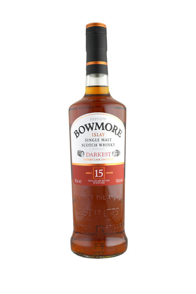 Bowmore 15 Year Old Darkest Sherry Cask | 43% 700ml