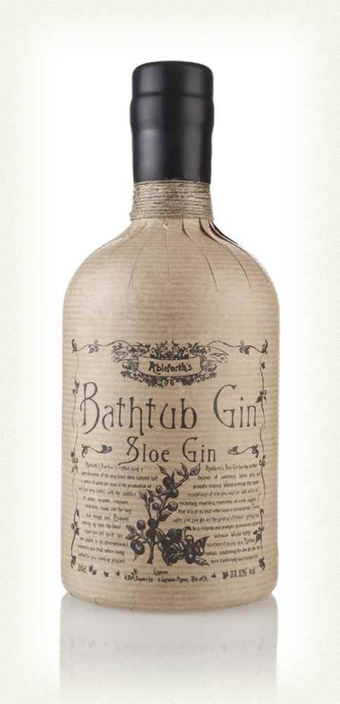 Bathtub Sloe Gin 33.8% 50cl