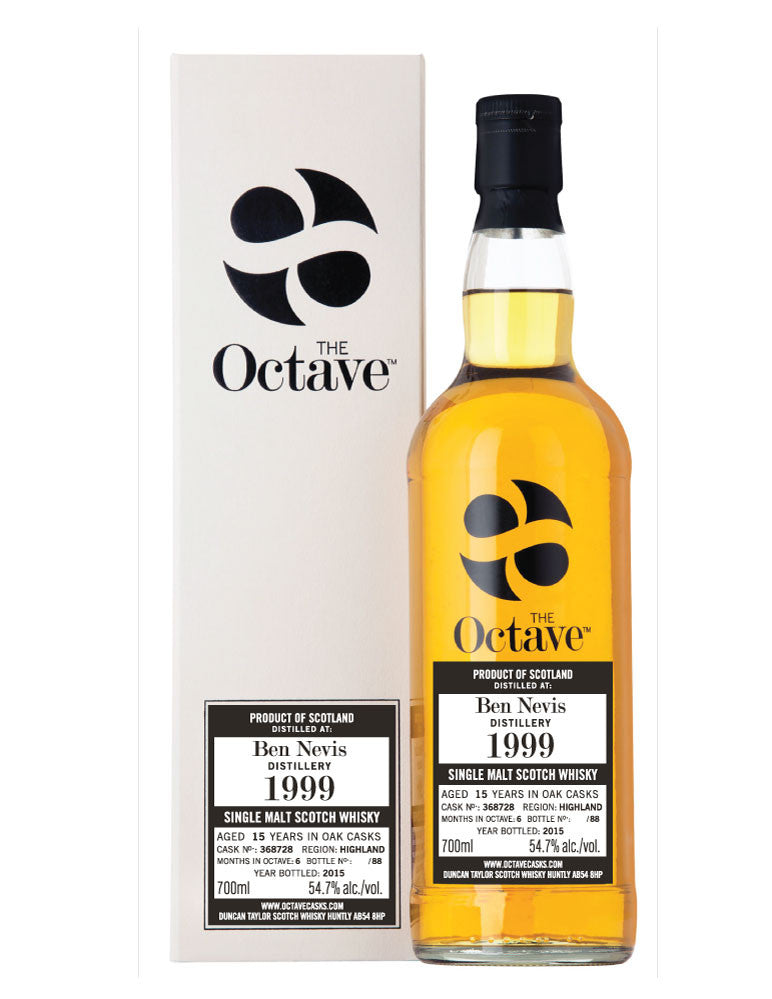 Ben Nevis 1999 The  OCTAVE  Cask #368728 | 54.7% 700ml  Whisky