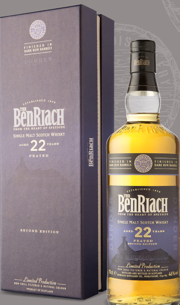 BenRiach Dunder (Dark Rum Finish) 22 Year Old 46% 70cl