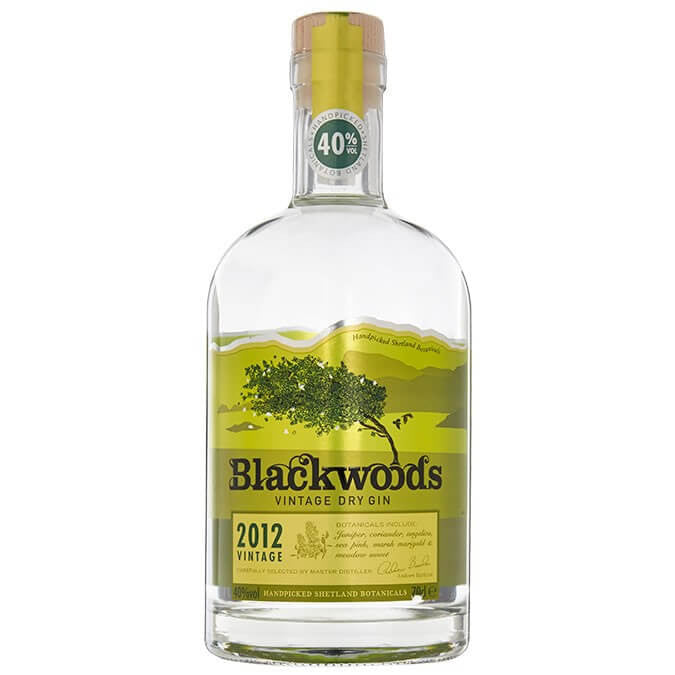 Blackwoods Dry Gin 40% 70cl