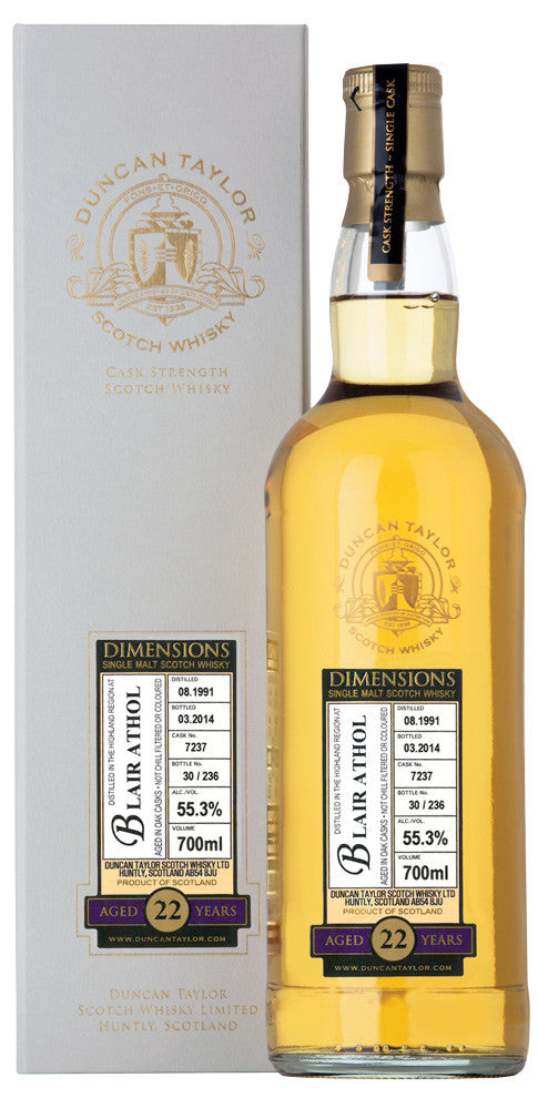 Miltonduff 6 Year Old Dimensions Cask | 46% 700ml  Whisky