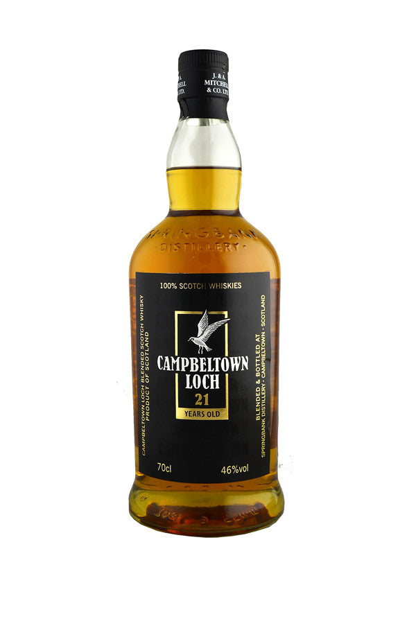 Campbeltown Loch 21 Year Old Blend | 46% 700ml  Whisky