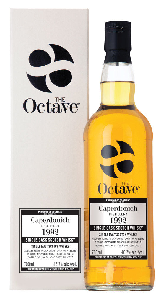 Caperdonich 1992 24 Year Old The  OCTAVE  Cask #4113283 | 46.7% 700ml  Whisky