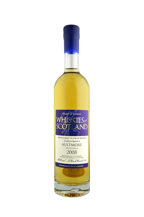 Aultmore 2008 Whiskies of Scotland 50cl | 54.3%  Whisky