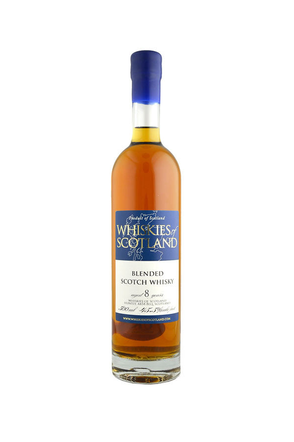 Blended 8 Year Old Whiskies of Scotland 50cl | 45.5%  Whisky