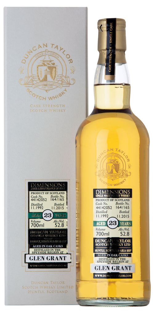 Glen Grant 1992 Dimensions Cask #142041 | 52.3% 700ml  Whisky