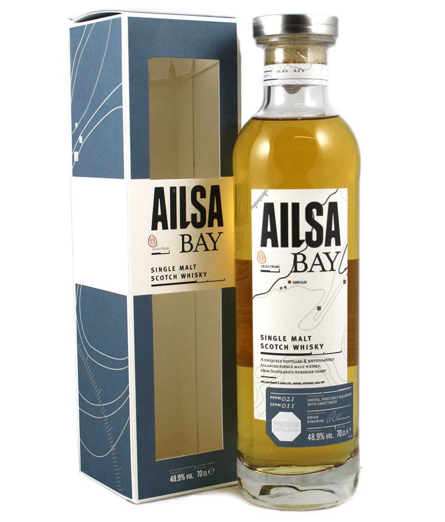 Ailsa Bay Single Malt Scotch Whisky | 48.9% 700ml