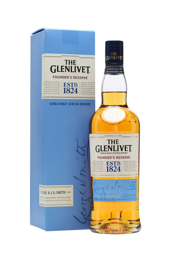 The Glenlivet Founder's Reserve  | 40% 700ml  Whisky