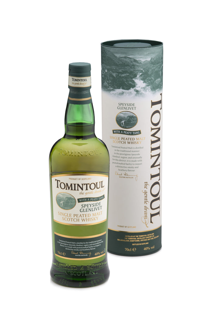 Tomintoul With A Peaty Tang | 40% 700ml  Whisky