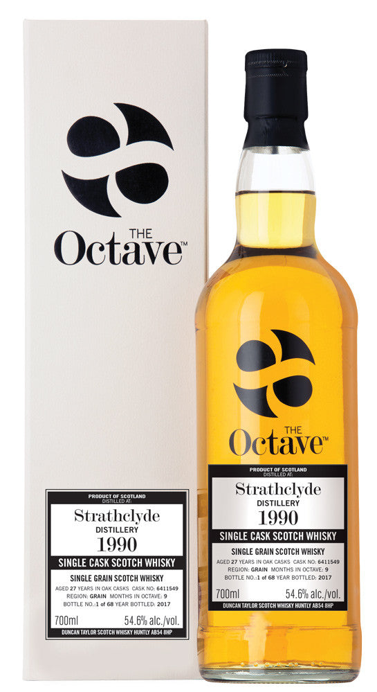 Strathclyde 1990 27 Year Old #6411549  OCTAVE  | 54.6% 700ml  Whisky