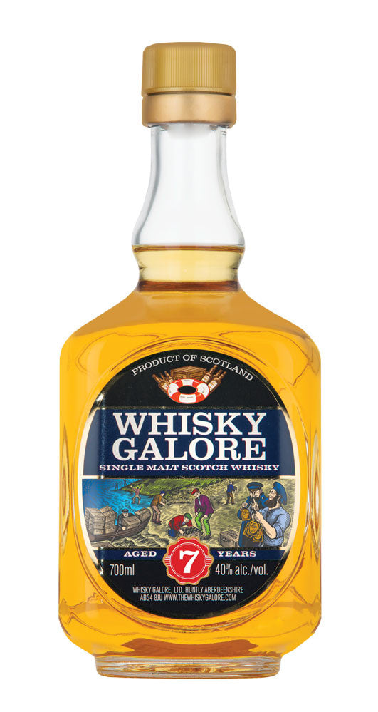 Whisky Galore 7 Year Old | 40% 700ml