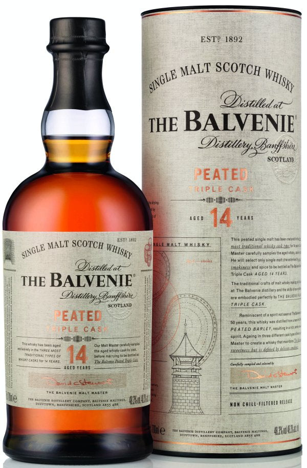 Balvenie 14 Year Old Peated Triple Cask | 48.3% 700ml