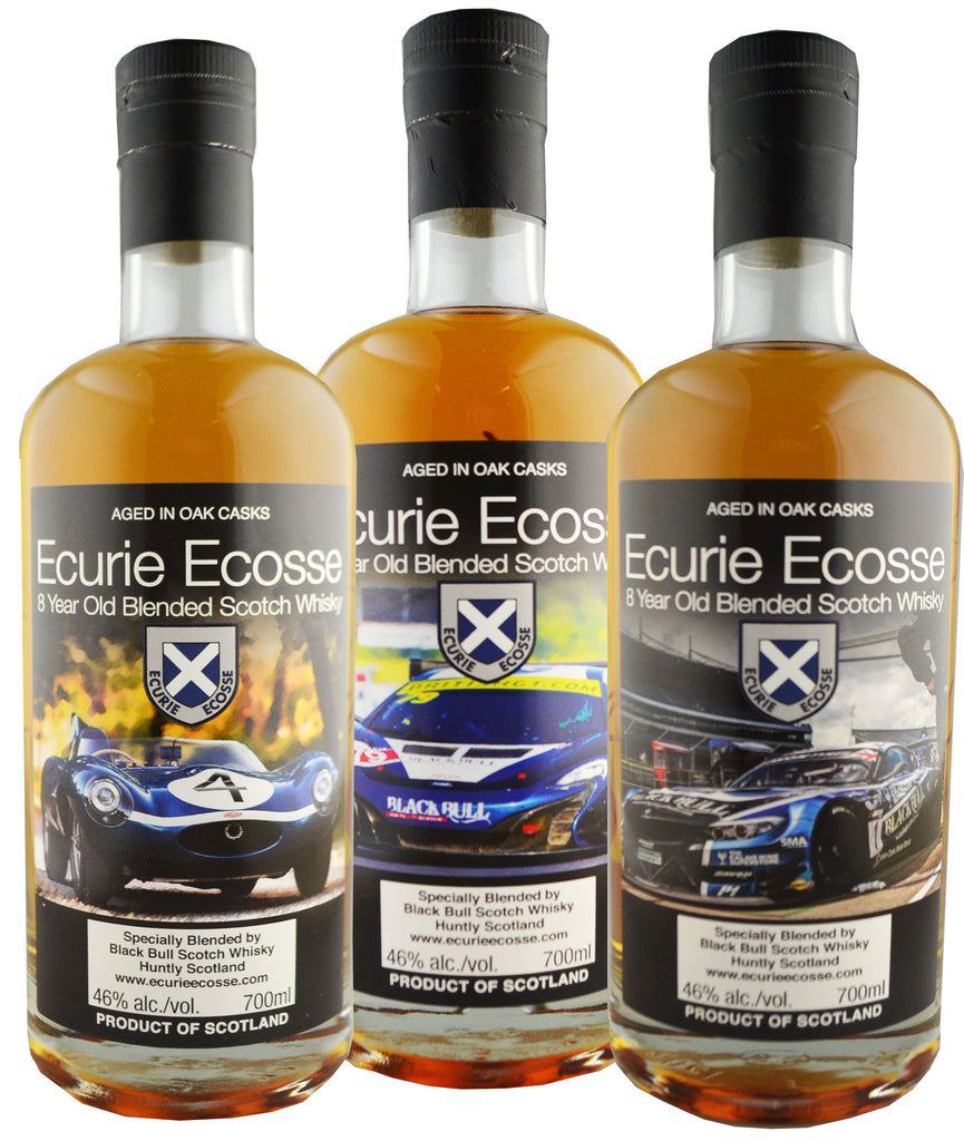 Ecurie Ecosse 8 Year Old Blended Whisky Set 3x700ml | 46%