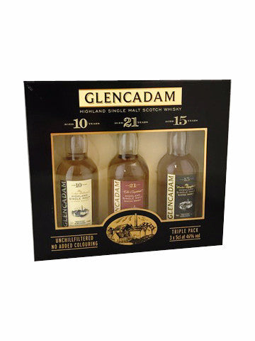 Glencadam Miniature Tri-Pack 3 x 5cl | 46%