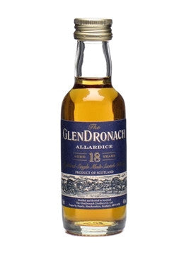 Glendronach 18 Year Old Miniature | 46% 50ml  Whisky