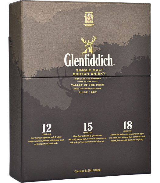 Glenfiddich Tasting Collection | 40% 3x200ml  Whisky