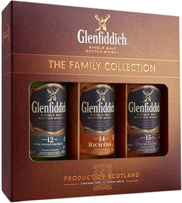 Glenfiddich Gift Pack | 40% 3x50ml