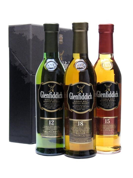 Glenfiddich Tasting Collection | 40% 3x200ml