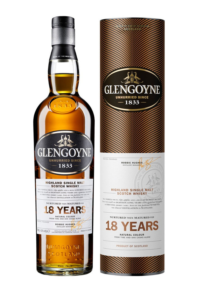 Glengoyne 18 Year Old | 43% 700ml