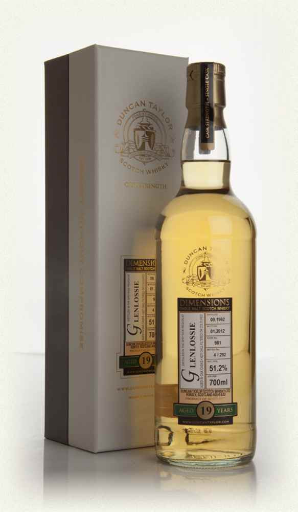 Glenlossie 1992 19 Year Old Dimensions Cask #981 | 51.2% 700ml  Whisky