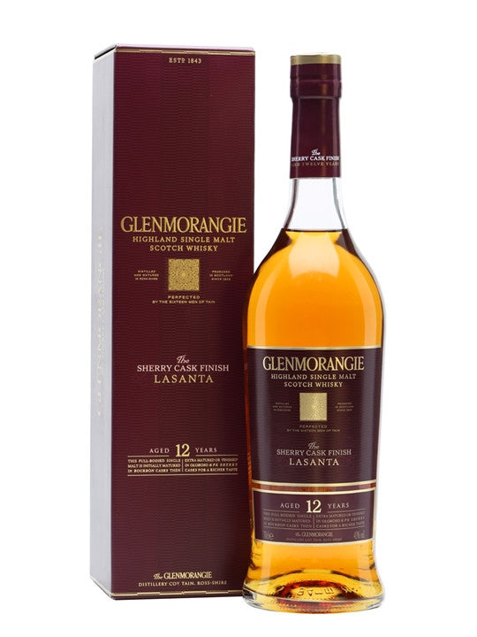 Glenmorangie 12 Year Old Lasanta | 43% 700ml