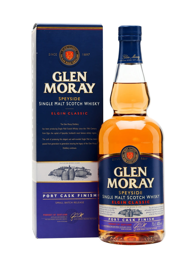 Glen Moray Port Cask 40% 700ml  Whisky
