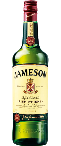 Jameson Irish Whiskey | 40%  Whisky