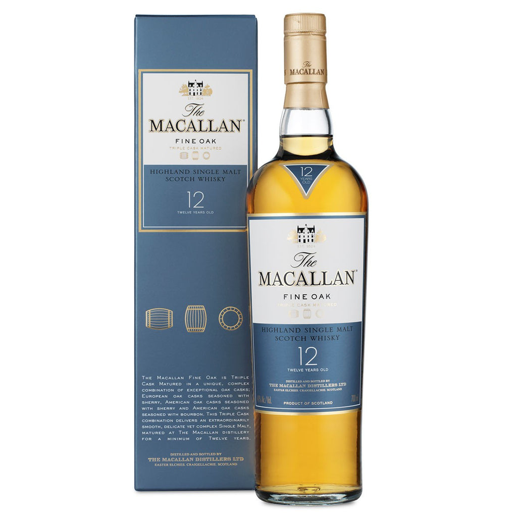 Macallan Fine Oak 12 Year Old | 40% 700ml