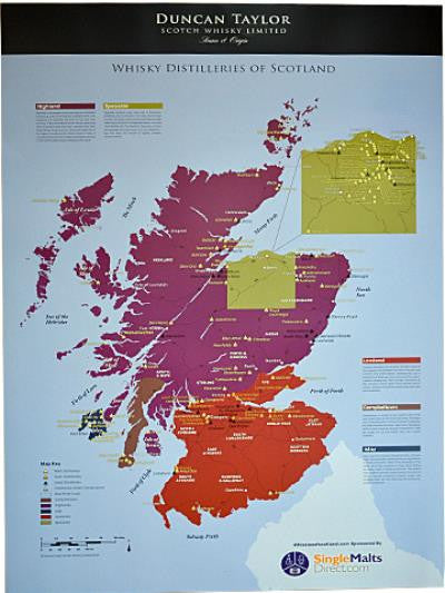 Whiskies of Scotland Map | 0%  Map