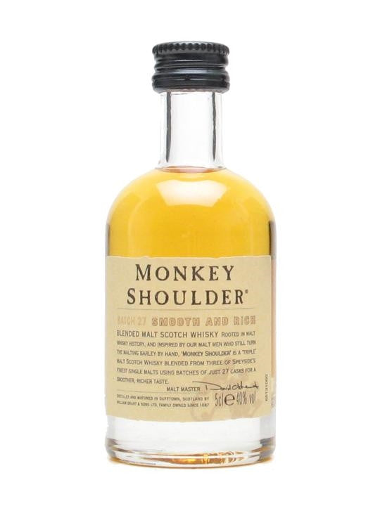 Monkey Shoulder Blended Whisky Miniature | 40%