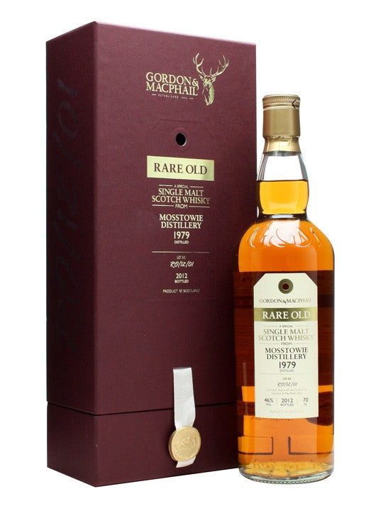 Mosstowie 1979 Gordon & Macphail Rare Old | 46% 700ml  Whisky