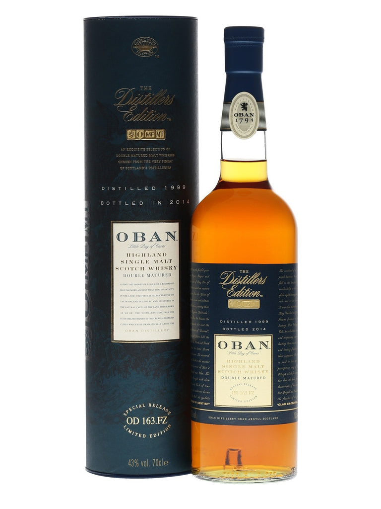 Oban 1999 Distiller's Edition | 43%  Whisky