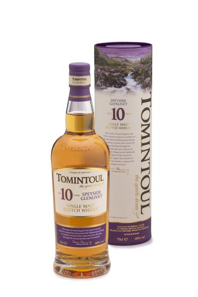 Tomintoul 10 Year Old | 40% 350ml  Whisky