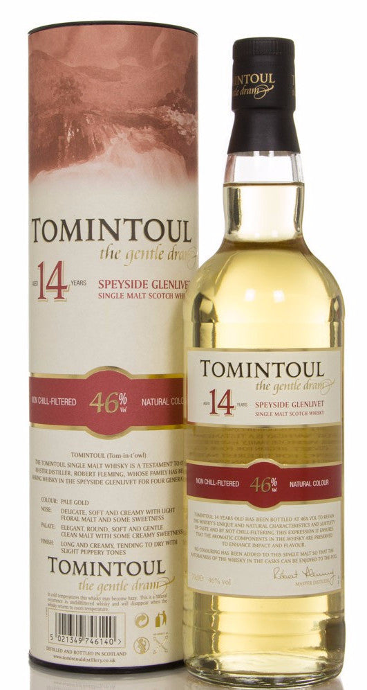 Tomintoul 14 Year Old | 46% 700ml  Whisky