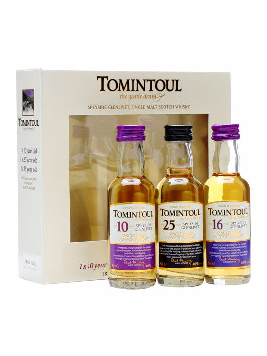 Tomintoul Miniature Tri-Pack 3 x 5cl | 40%