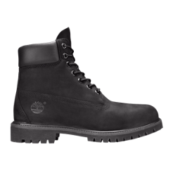 "Timberland Men's Icon 6"" Boots - Black Nubuck"