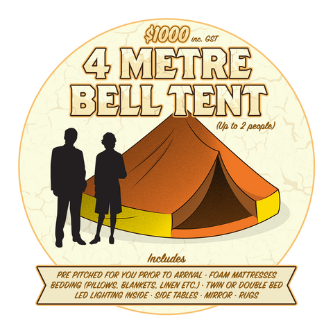 BELL TENT 4M (2 PEOPLE)