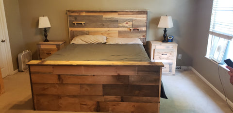 Rustic Bedroom Set - Mirage Tactical Furniture