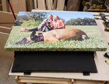 28 x 48 Personlalized Hidden Canvas Picture Frame - Mirage Tactical Furniture