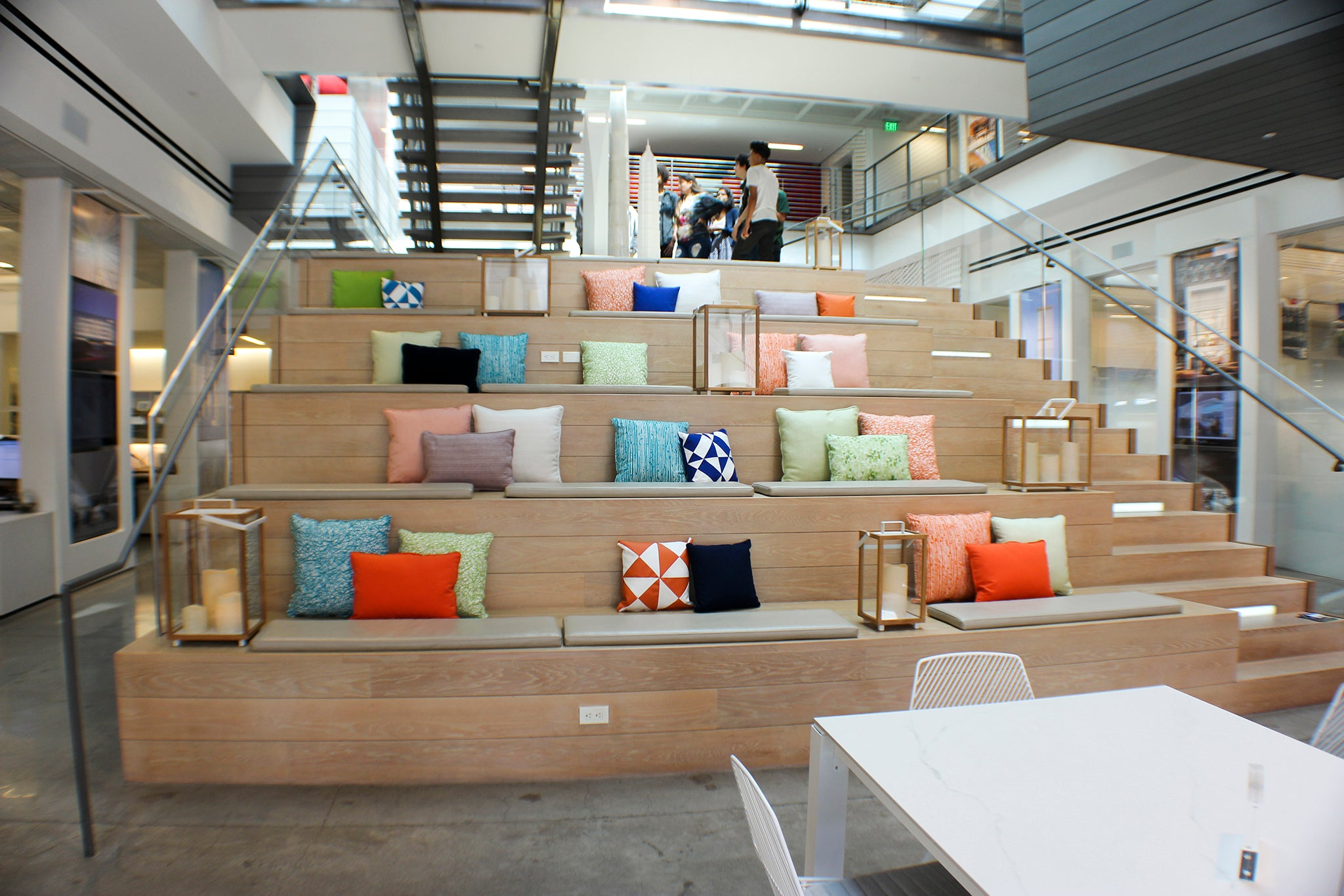 Gensler Red Zone Pillows