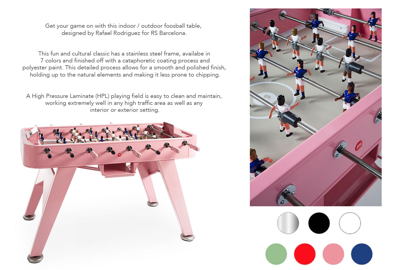 RS Barcelona Foosball tables