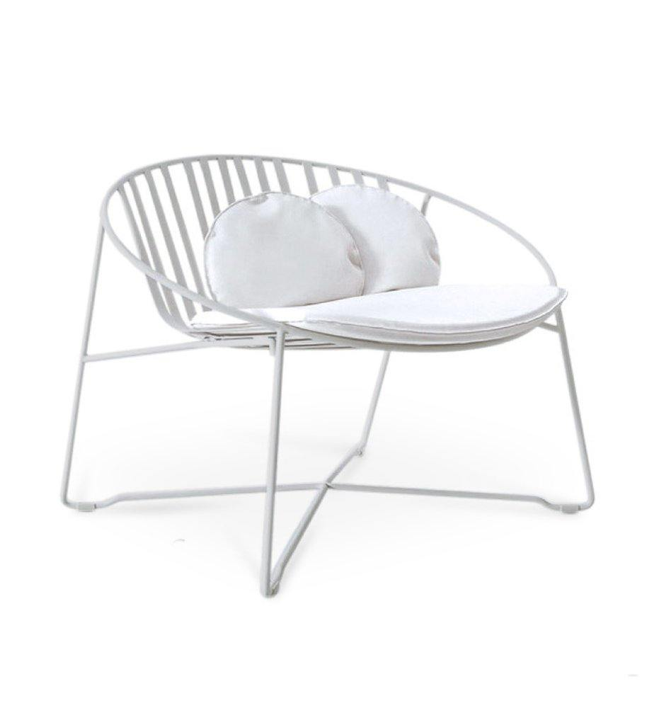 Juniper House-Almeco-Another Lounge Chair-White