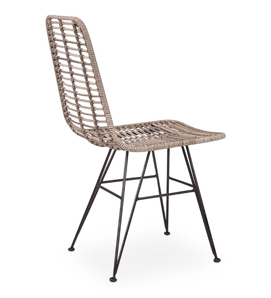 Almeco Bonaire Dining Chair Outdoor All Weather Rattan